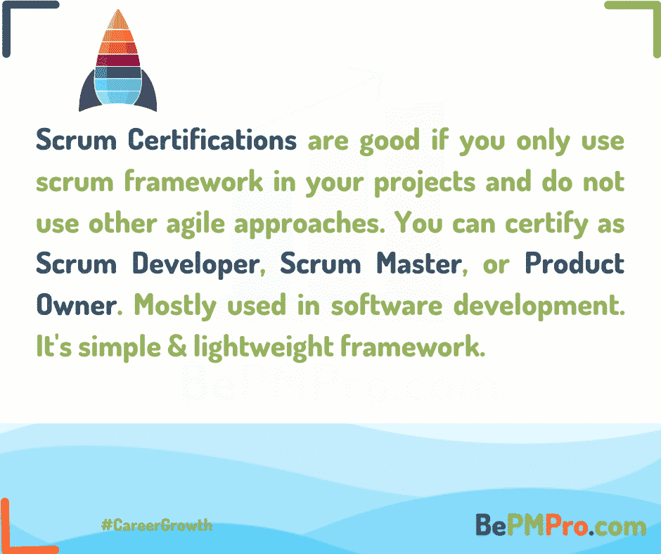 Scrum Certifications