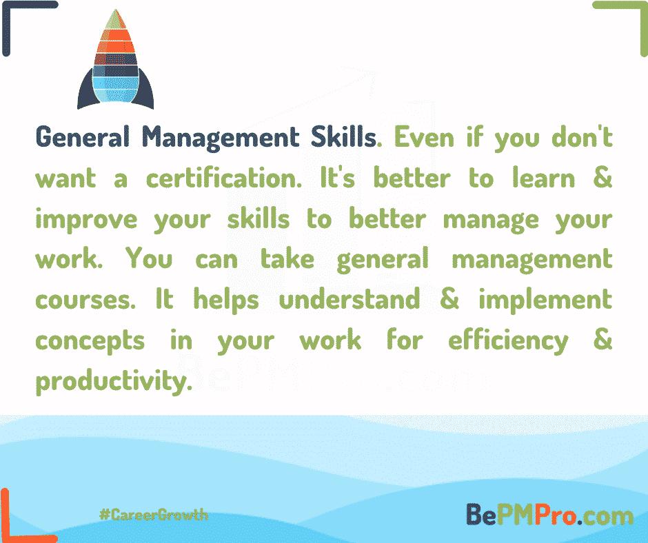General Project Management Skills